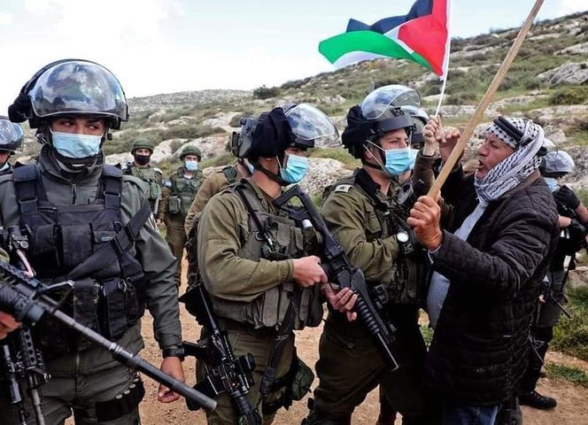 شهيد واصابات خلال مواجهات مع الاحتلال على جبل صبيح في بيتا