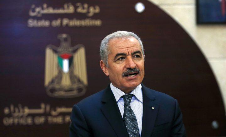 اشتية يرحب بتخصيص قطر 500 مليون دولار لإعادة إعمار غزة