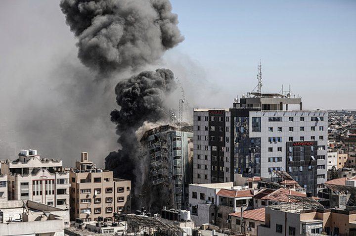قناة عبرية: قصف برج الجلاء في غزة كان نقطة تحول ضد الاحتلال