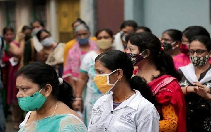 تحسن طفيف على الوضع الوبائي في الهند