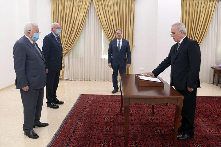 الرفاعي يؤدي اليمين القانونية أمام الرئيس سفيرا لدى سوريا