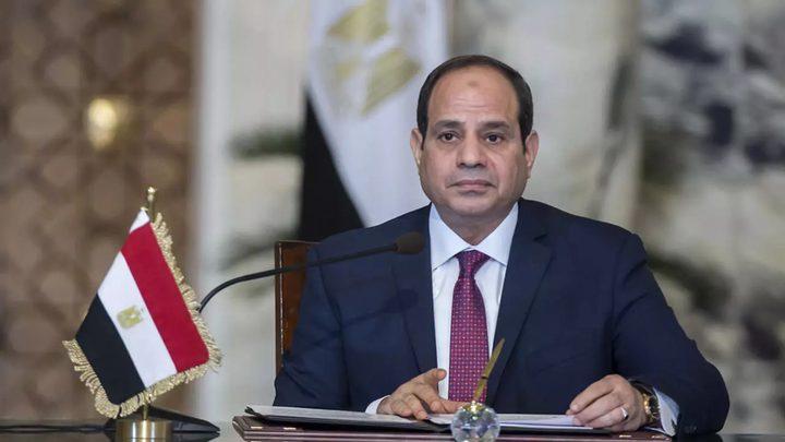 السيسي: مصر متمسكة بانجاز المصالحة الفلسطينية في أقرب وقت