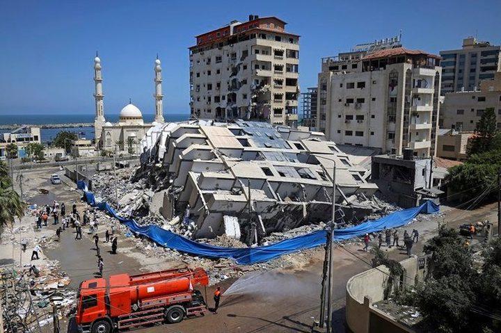 السيسي يوجه بسرعة إدخال معدات للمساهمة في إعادة إعمار غزة
