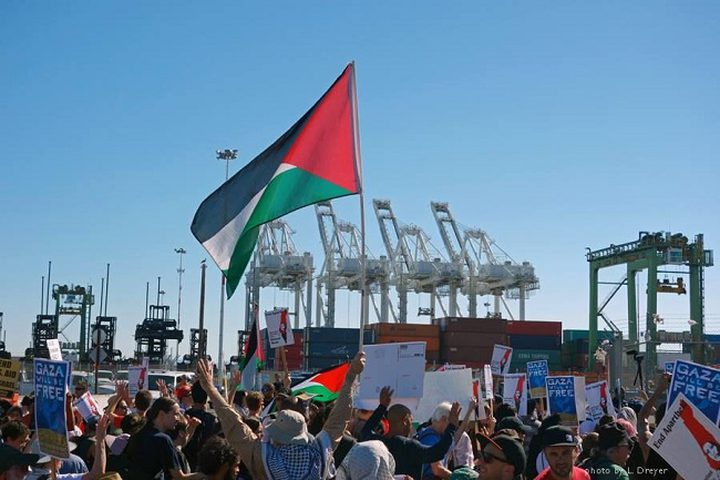 اطلاق حملة لمنع السفن الإسرائيلية من التفريغ في الموانئ العالمية