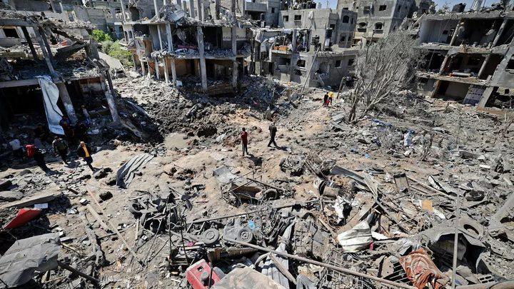 بورغسدورف: إعادة إعمار غزة تتطلب رفع الحصار