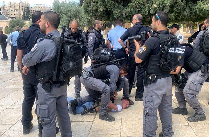 شرطة الاحتلال تعتقل 11 شابا من كفر كنا داخل أراضي 48