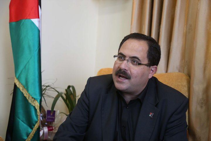 صيدم: الاحتلال يرى في ملف اعمار غزة ملفاً لابتزاز شعبنا