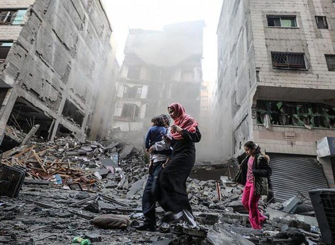 استشهاد مواطنة متأثرة بإصابتها خلال العدوان الإسرائيلي على غزة