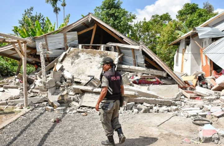 زلزال عنيف يضرب شرق إندونيسيا