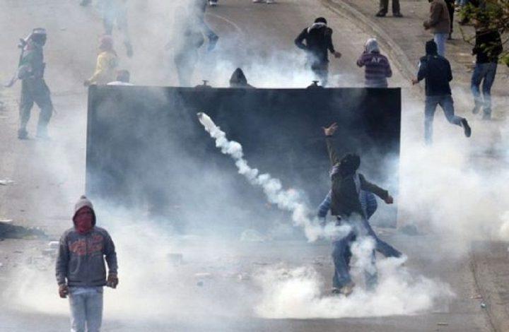 إصابات برصاص الاحتلال في نعلين غرب رام الله