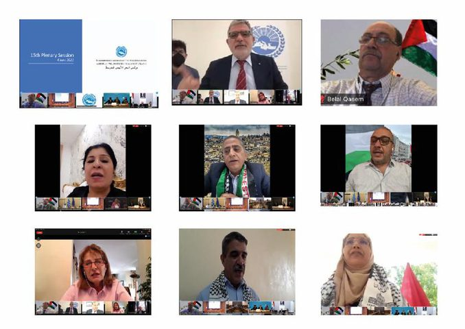 إعادة انتخاب فلسطين نائبا لرئيس برلمان البحر الأبيض المتوسط