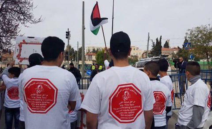 """الاحتلال يقمع """"ماراثون القدس"""" التضامني مع الشيخ جراح وسلوان"""