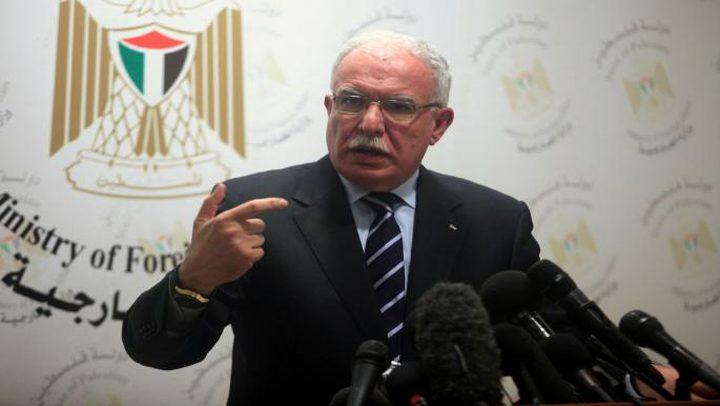 """وزارة الخارجية تؤكد """"حراكنا مستمر لتحويل القضية لموقف دولي حازم"""""""