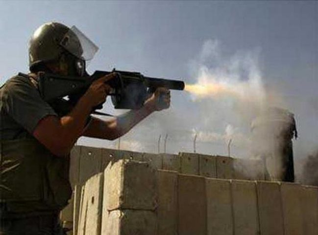 إصابات خلال مواجهات مع قوات الاحتلال بكفر قدوم