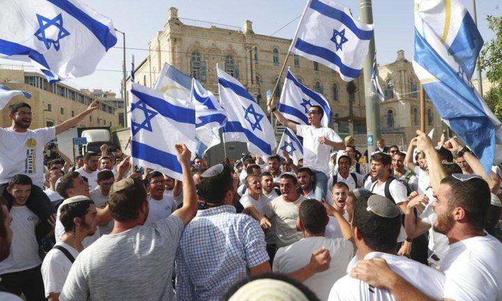 """صحيفة عبرية: لم يتم تأكيد موعد إقامة """"مسيرة الأعلام"""" في القدس"""
