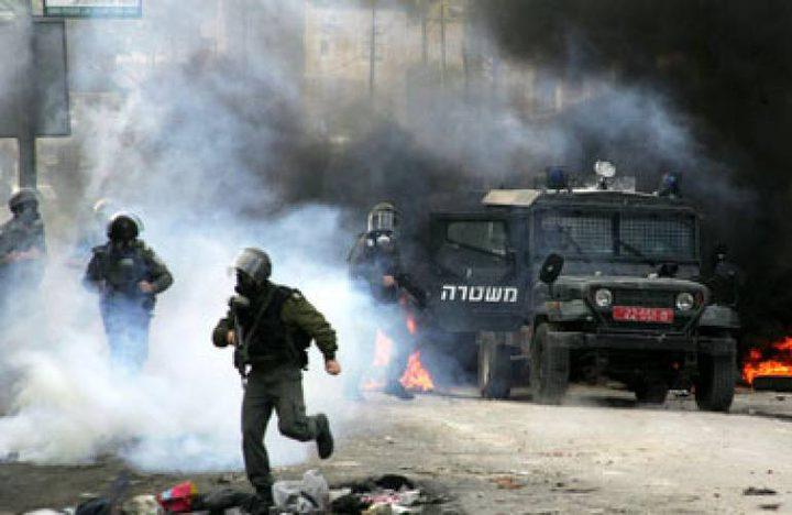 اصابة خطيرة خلال مواجهات مع الاحتلال في قرية النبي صالح