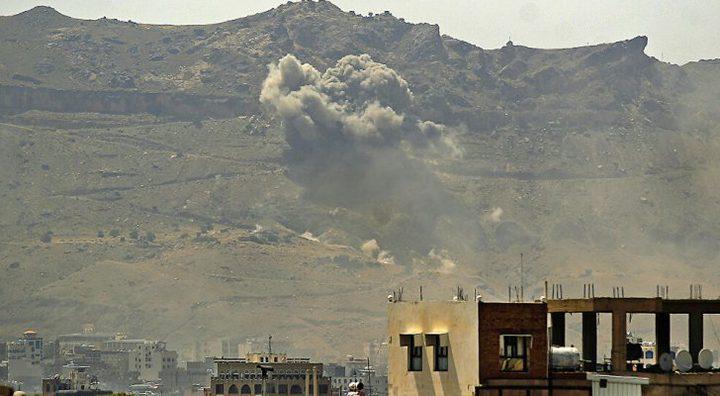 14 قتيلاً في قصف استهدف محطة وقود في مدينة مأرب اليمنية