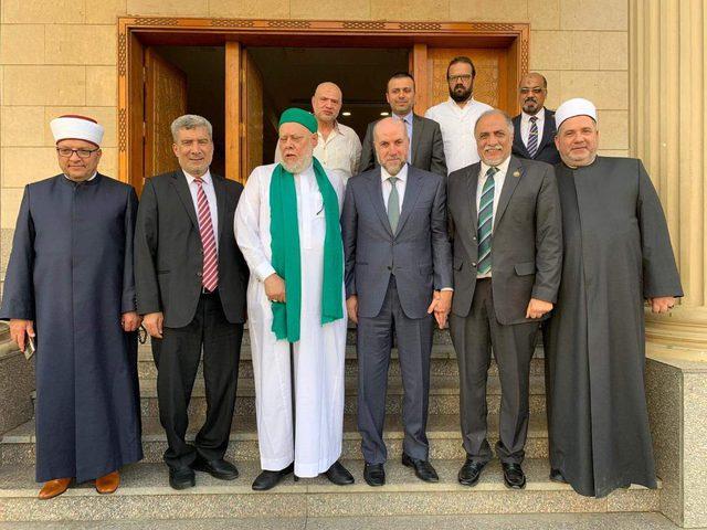 الهباش يطلع قيادات دينية مصرية على تطورات الأوضاع في القدس