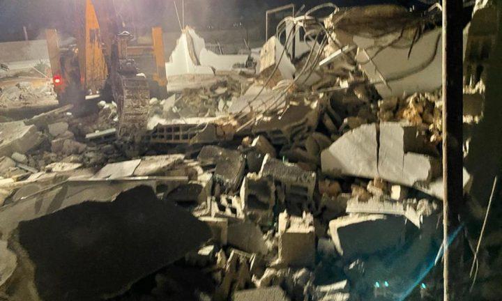 الاحتلال يهدم منزلا في قرية وادي الخليل