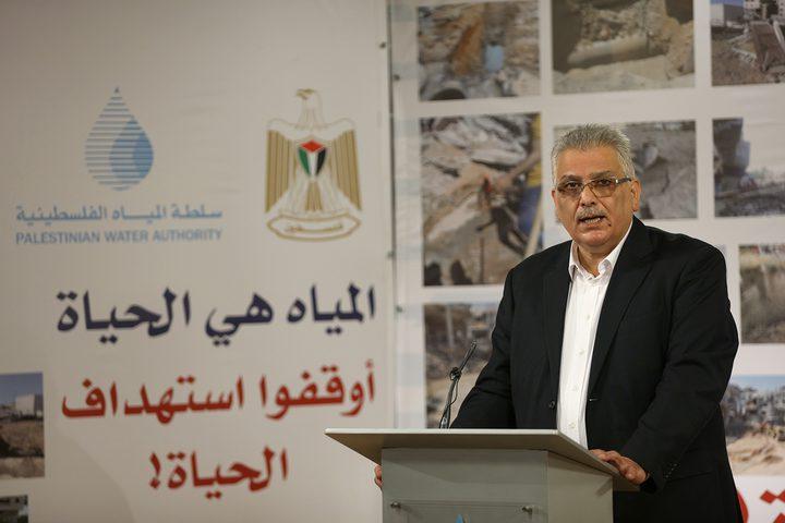 غنيم يبحث مع رؤساء البلديات تداعيات العدوان الإسرائيلي الأخير