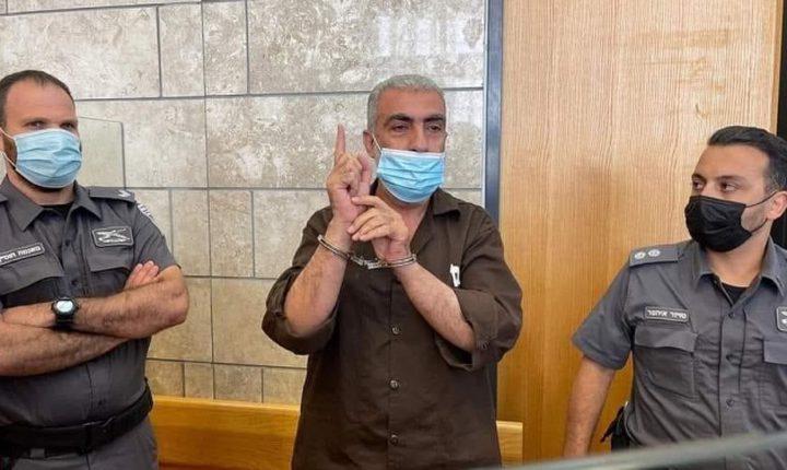 محكمة الاحتلال تعقد جلسة في ملف اعتقال القيادي كمال خطيب