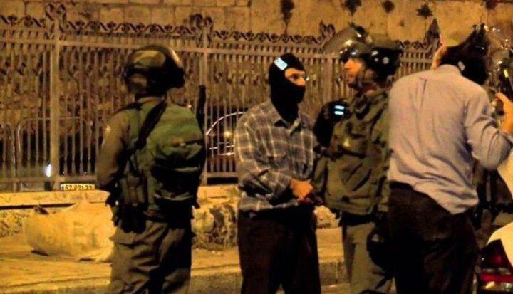 مستعربون يعتقلون 3 شبان من بلدة الطور بالقدس