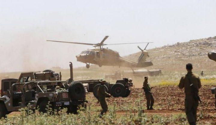 الاحتلال يزعم: أحبطنا صفقة بيع أسلحة في منطقة غور الأردن