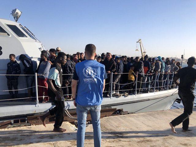 خفر السواحل الليبية يعترض 1000 مهاجر غير شرعي خلال يومين