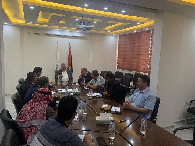 غنيم يطلع على احتياجات بلديات شمال غزة
