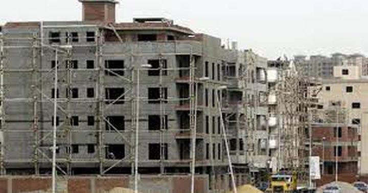 الاحصاء: انخفاض عدد رخص الأبنية بنسبة 18% في الربع الأول 2021