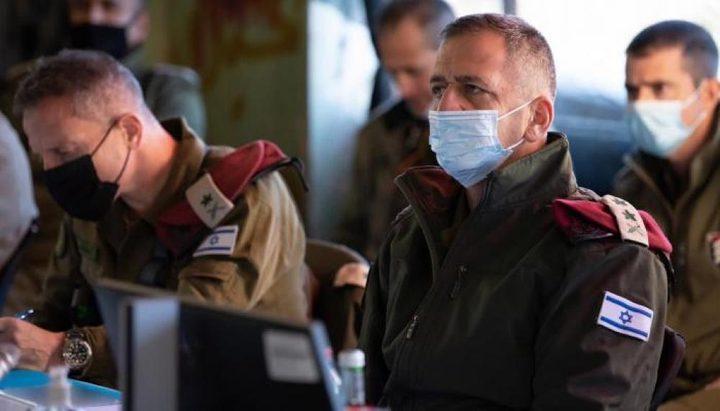 كوخافي يعقد مؤتمر موسع لتقييم العدوان الأخير على قطاع غزة