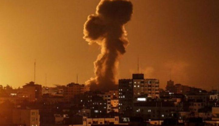 غانتس يصادق على استهداف أهداف جديدة في قطاع غزة