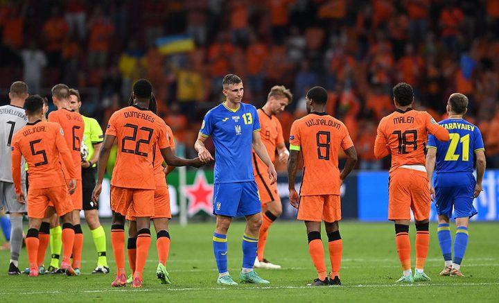 هولندا تهزم أوكرانيا في بطولة أوروبا لكرة القدم