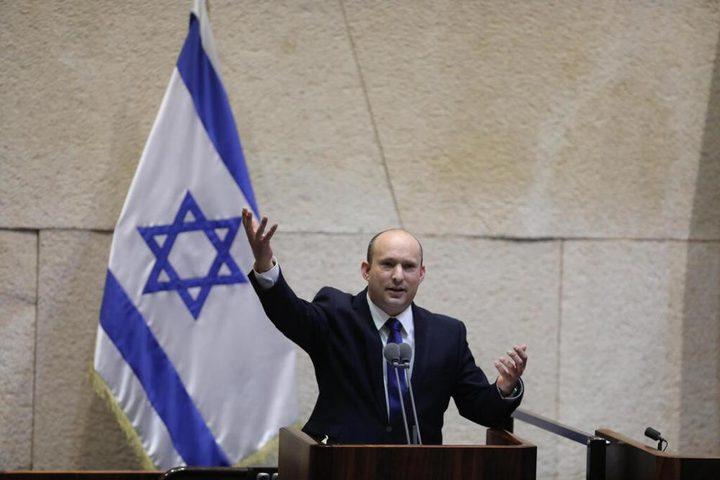 تنصيب نفتالي بينيت رئيسًا لوزراء الاحتلال