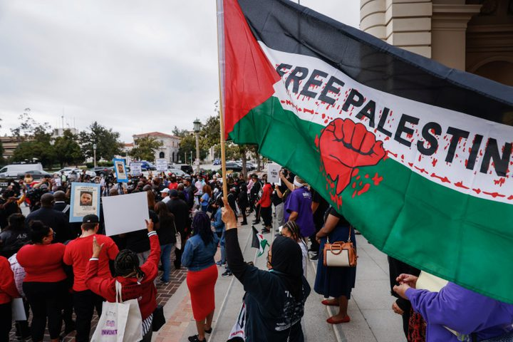 جامعات أميركية تتضامن مع القضية الفلسطينية