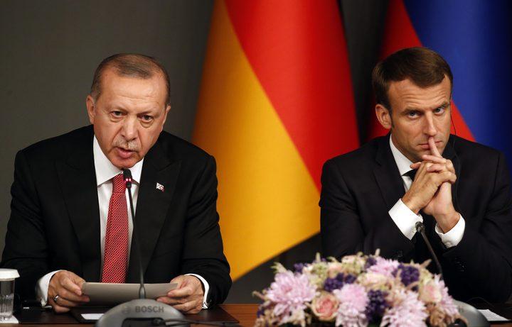 """ماكرون وأردوغان يتفقان حول """"سحب المرتزقة من ليبيا"""""""