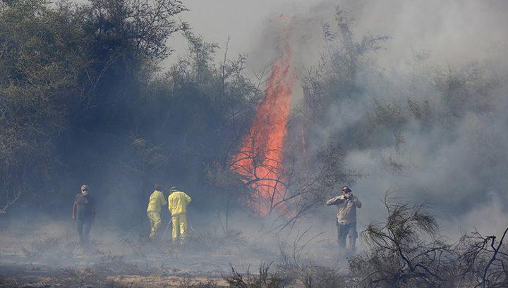 الاحتلال: ارتفاع عدد الحرائق في مستوطنات غلاف غزة إلى 21 حريقاً