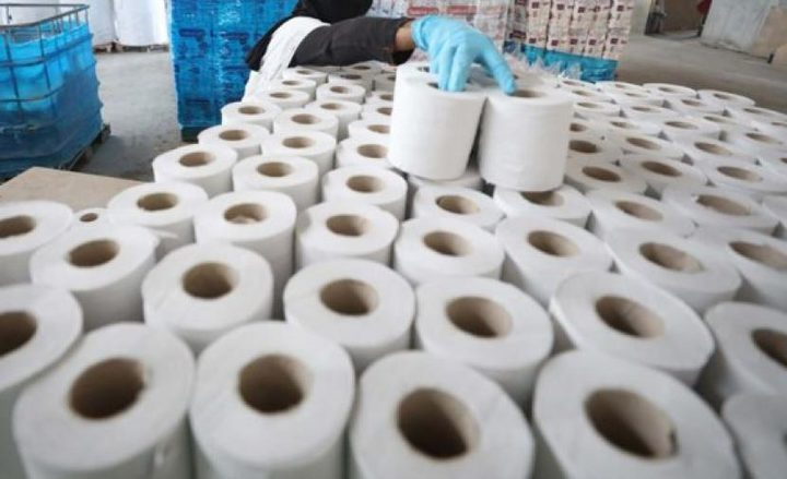 بيت لحم: ضبط أكثر من 6 أطنان محارم من إنتاج المستوطنات
