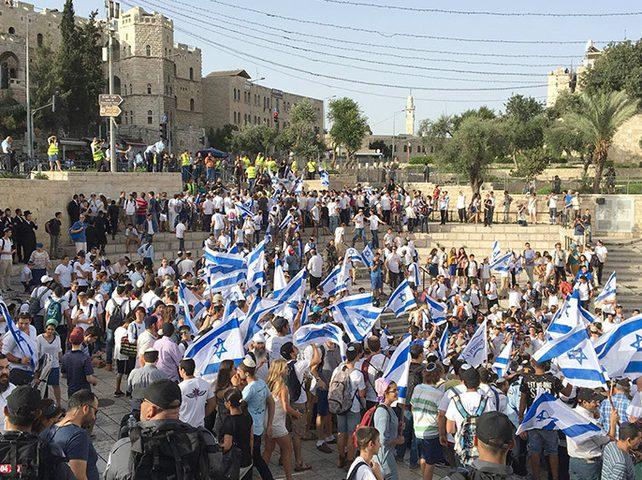 """الاحتلال يعقد جلسة تقييمات أمنية خاصة بـ""""مسيرة الأعلام"""""""