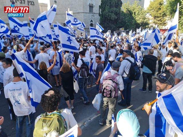إصابات خلال انطلاق مسيرة الأعلام الاستفزازيّة في القدس المحتلة