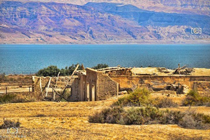 مطلات البحر الميت.. تصوير: خليل كوع