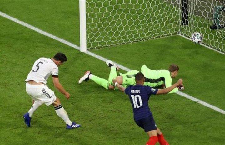 ألمانيا تسقط أمام فرنسا في كأس أمم أوروبا