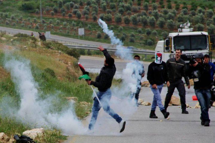 إصابة برصاص الاحتلال في قرية النبي صالح