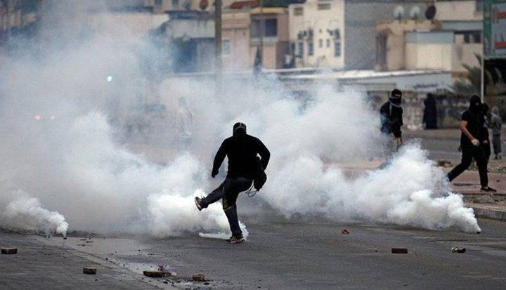 جنين:حالات اختناق خلال مواجهات مع الاحتلال في جبع
