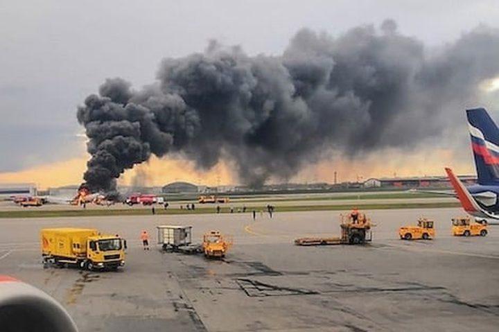 7قتلى و عدة جرحى جراء تحطم طائرة في روسيا