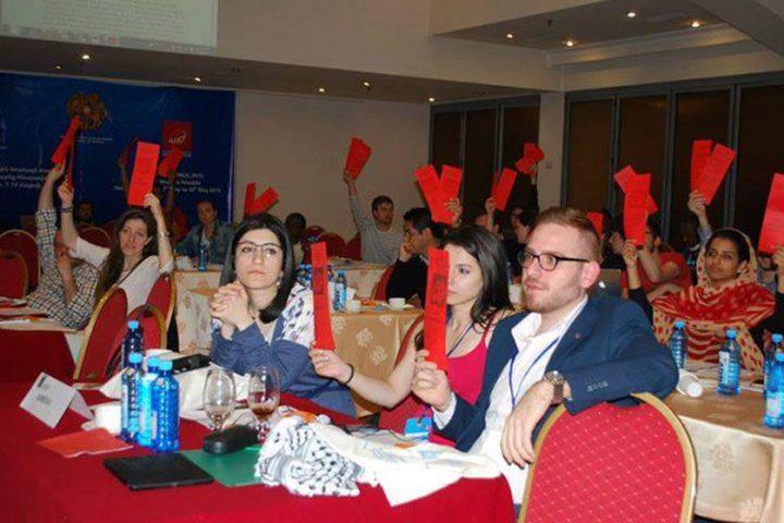 انتخاب فلسطين نائبا لرئيس الاتحاد العالمي للشباب الاشتراكي