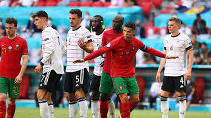 البرتغال وألمانيا تدخلان تاريخ أمم أوروبا بالأهداف العكسية