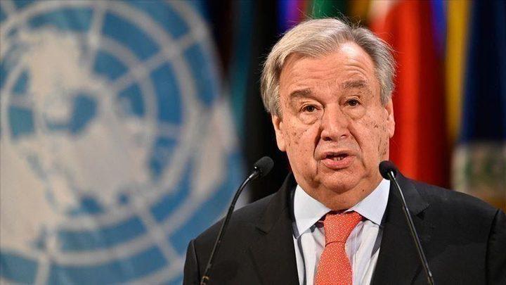 الرئيس يهنئ غوتيريش بإعادة انتخابه أمينا عاما للأمم المتحدة