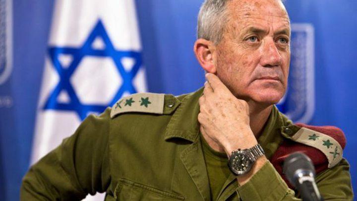 غانتس:بدون عودة الأسرى وتحقيق الامن غزة لن تنعم اقتصادياً