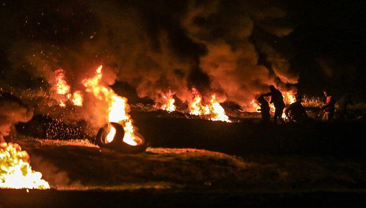 """21 إصابة خلال مواجهات """"الإرباك الليلي"""" في بيتا جنوب نابلس"""